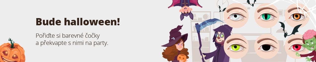 Bude halloween! Pořiďte si barevné čočky a překvapte s nimi na party