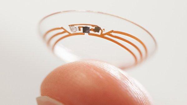 Chytrá kontaktní čočka z laboratoří Google X
