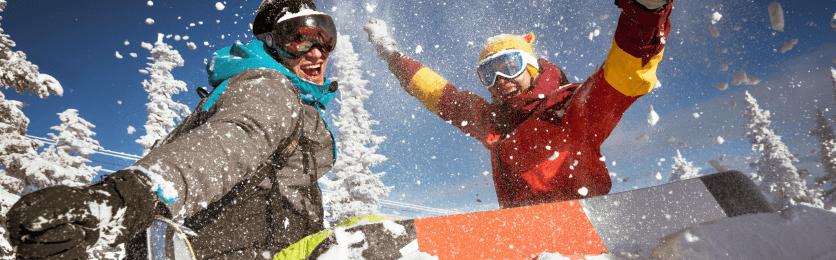 Zimní sporty a kontaktní čočky