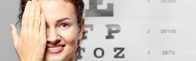 Máte zdravý zrak? Otestujte se!