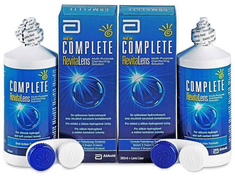 Roztok Complete RevitaLens 2x360ml  - Výhodné dvojbalení roztoku - Abbott Medical Optics