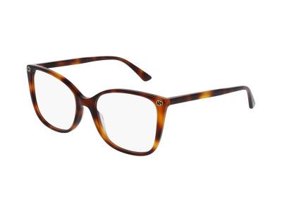 Brýlové obroučky Gucci GG0026O 002
