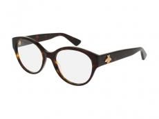 Kulaté brýlové obroučky - Gucci GG0099O-002