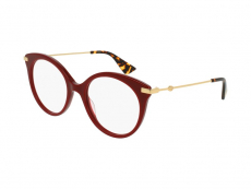 Kulaté brýlové obroučky - Gucci GG0109O-006