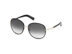 Sluneční brýle Tom Ford - Tom Ford GEORGIA FT0498 01B