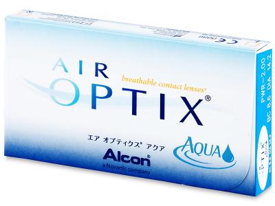 Air Optix Aqua (3čočky)