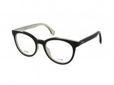 Kulaté brýlové obroučky - Fendi FF 0159 TLN