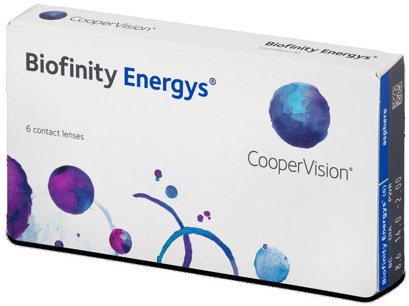 Biofinity Energys (6 čoček) - Měsíční kontaktní čočky
