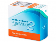 Bausch and Lomb - PureVision 2 for Astigmatism (6 čoček)