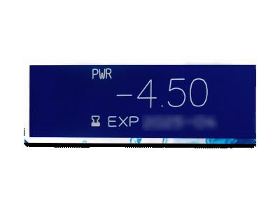 Dailies AquaComfort Plus (180čoček) - Náhled parametrů čoček