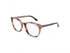 Oválné brýlové obroučky - Gucci GG0219O-010