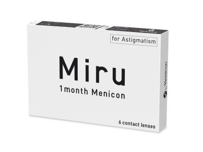 Miru 1 Month Menicon for Astigmatism (6 čoček) - Předchozí design