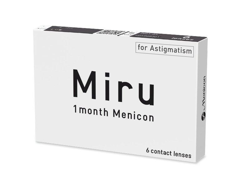 Miru 1 Month Menicon for Astigmatism (6 čoček) - Toric contact lenses  - Menicon