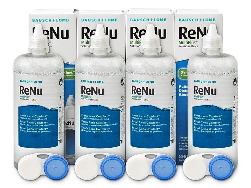 Roztok ReNu MultiPlus 4x360ml  - Výhodné čtyřbalení roztoku - Bausch and Lomb