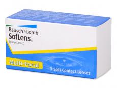 Multifokální kontaktní čočky - SofLens Multi-Focal (3čočky)