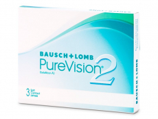 Měsíční kontaktní čočky - PureVision 2 (3čočky)