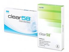 Kontaktní čočky ClearLab - Clear 58 (6čoček)
