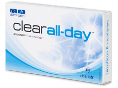 Kontaktní čočky - Clear All-Day (6 čoček)