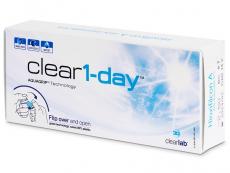 Kontaktní čočky ClearLab - Clear 1-Day (30čoček)