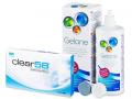 Clear 58 (6 čoček) +roztokGelone360ml
