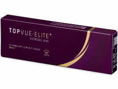 TopVue Elite+ (10 čoček) - Jednodenní kontaktní čočky