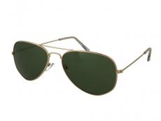 Sluneční brýle Pilot - Sluneční brýle Alensa Pilot Gold