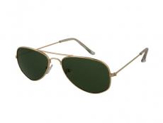 Sluneční brýle Pilot - Dětské sluneční brýle Alensa Pilot Gold