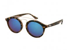 Sluneční brýle - Dětské sluneční brýle Alensa Panto Havana Blue Mirror