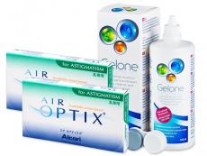 Air Optix for Astigmatism (2x3 čočky) +roztokGelone360ml - Předchozí design
