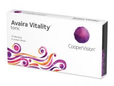 Čtrnáctidenní kontaktní čočky - Avaira Vitality Toric (6 čoček)