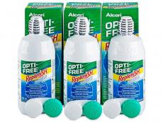 Roztoky Opti-Free - Roztok Opti-Free RepleniSH 3x300ml