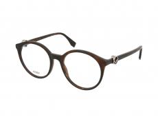 Kulaté brýlové obroučky - Fendi FF 0309/086