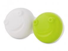 Pouzdra na kontaktní čočky - Náhradní pouzdro do vibrační kazetky - zelené