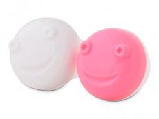 Pouzdra na kontaktní čočky - Náhradní pouzdro do vibrační kazetky - růžové