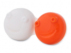 Pouzdra na kontaktní čočky - Náhradní pouzdro do vibrační kazetky - hnědé