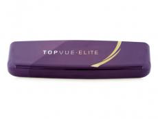 Pouzdra na čočky a cestovní sady - Pevné pouzdro TopVue Elite