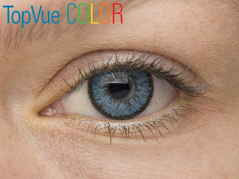 Blue na modrém oku