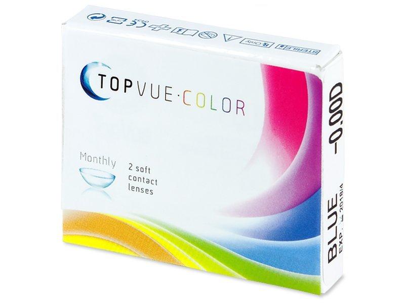 TopVue Color - nedioptrické (2čočky) - Barevné kontaktní čočky - TopVue