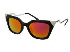 Sluneční brýle - Sluneční brýle Alensa Cat Eye Shiny Black Mirror