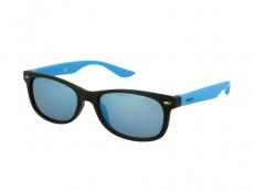 Sluneční brýle Classic Way - Dětské sluneční brýle Alensa Sport Black Blue Mirror