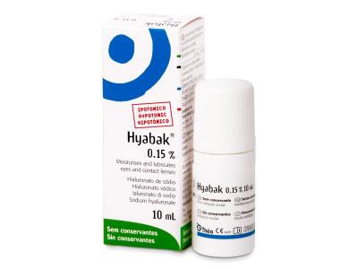 Oční kapky Hyabak 10 ml  - Předchozí design