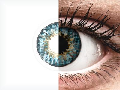 Air Optix Colors - Blue - dioptrické (2čočky)