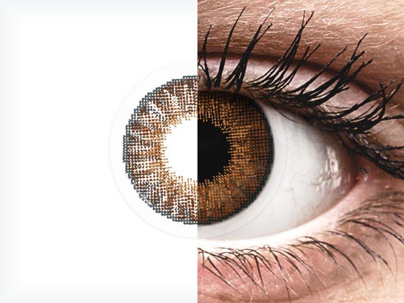 Air Optix Colors - Brown - nedioptrické (2 čočky)