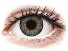 Měsíční kontaktní čočky - Air Optix Colors - Grey - dioptrické (2čočky)