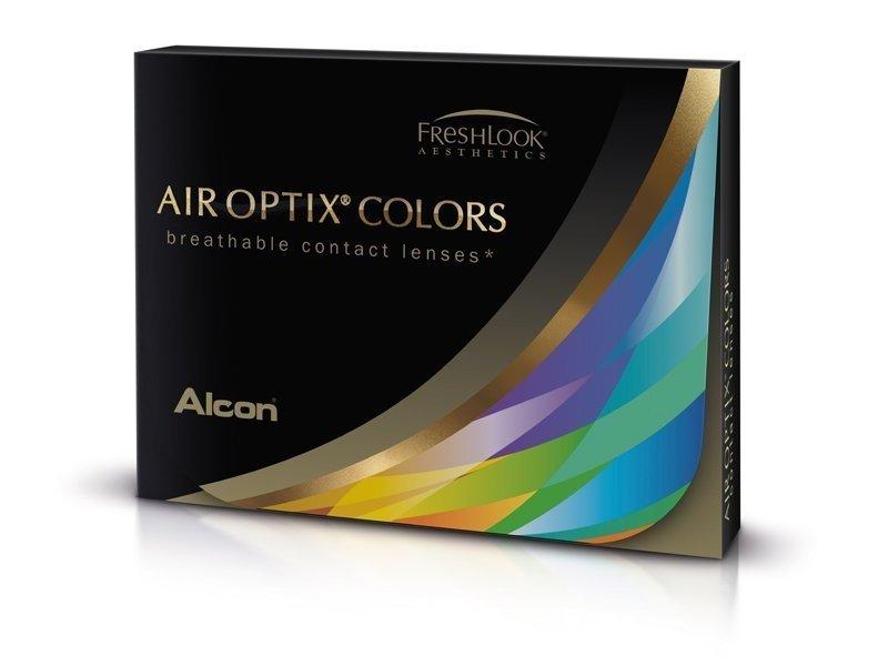 Air Optix Colors - Grey - dioptrické (2čočky)