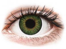Měsíční kontaktní čočky - Air Optix Colors - Green - dioptrické (2čočky)