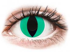 Barevné kontaktní čočky - ColourVUE Crazy Lens - Anaconda - nedioptrické (2čočky)