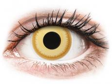 Barevné kontaktní čočky - ColourVUE Crazy Lens - Avatar - nedioptrické (2čočky)