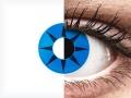 ColourVUE Crazy Lens - Blue Star - nedioptrické (2čočky)