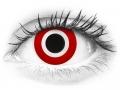 ColourVUE Crazy Lens - Bulls Eye - nedioptrické (2čočky)